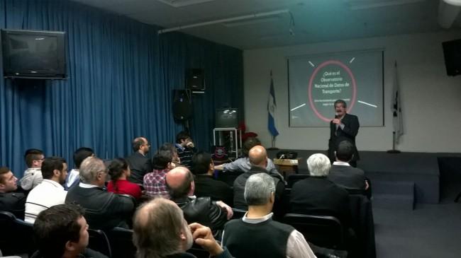 El Ing. Enrique Filgueira presentó la charla