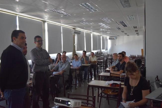 El Mgtr. Ing. Lucas Gabriel Giménez fue uno de los participantes del encuentro