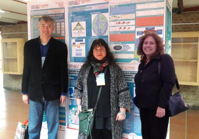 Jorge Forno, Karina Ferrando y Olga Páez participaron del encuentro