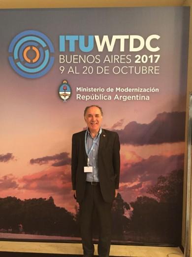 El Ing. Raúl Viñales participa de la Conferencia en representación de la FRA