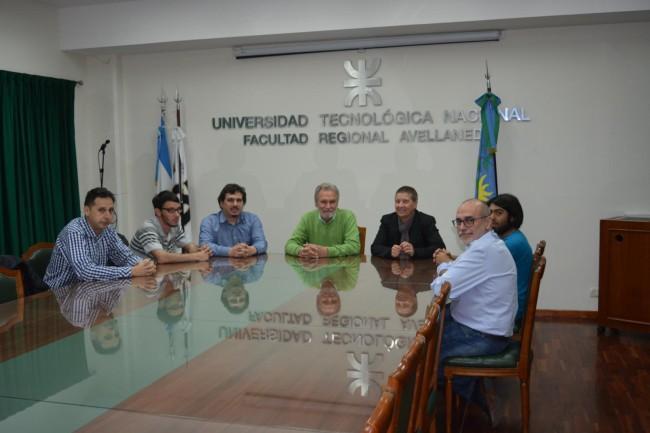 La reunión se realizó en el Salón del Consejo Directivo