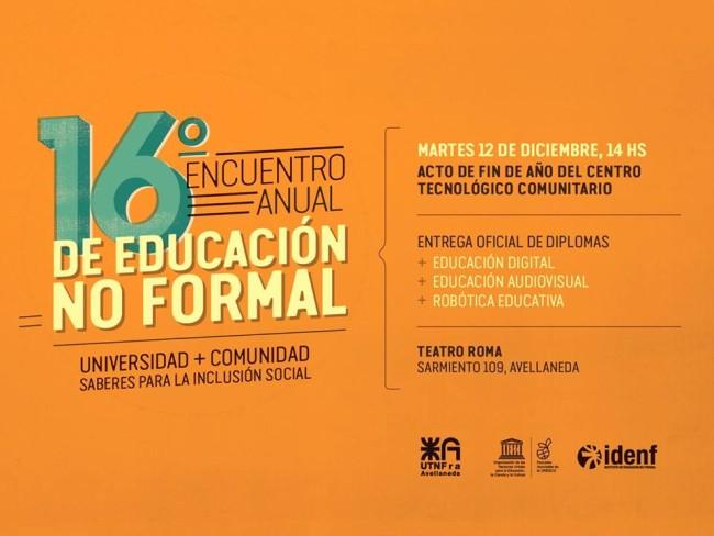 El Encuentro tendrá lugar en el Teatro Roma de Avellaneda