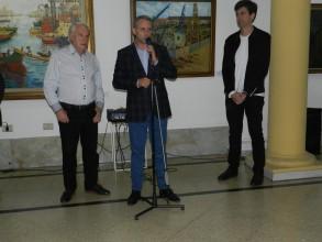 El Ing. Sebastián Blasco y Oscar Veloso presentaron la muestra